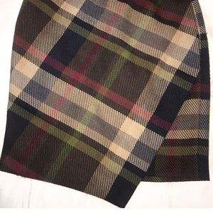 Vintage plaid skirt , size extra small